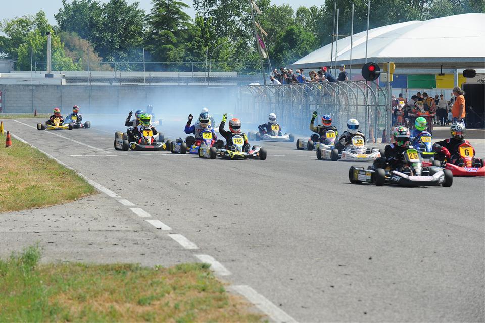 A Cecina in scena la 3° Prova della KFA Series 100cc