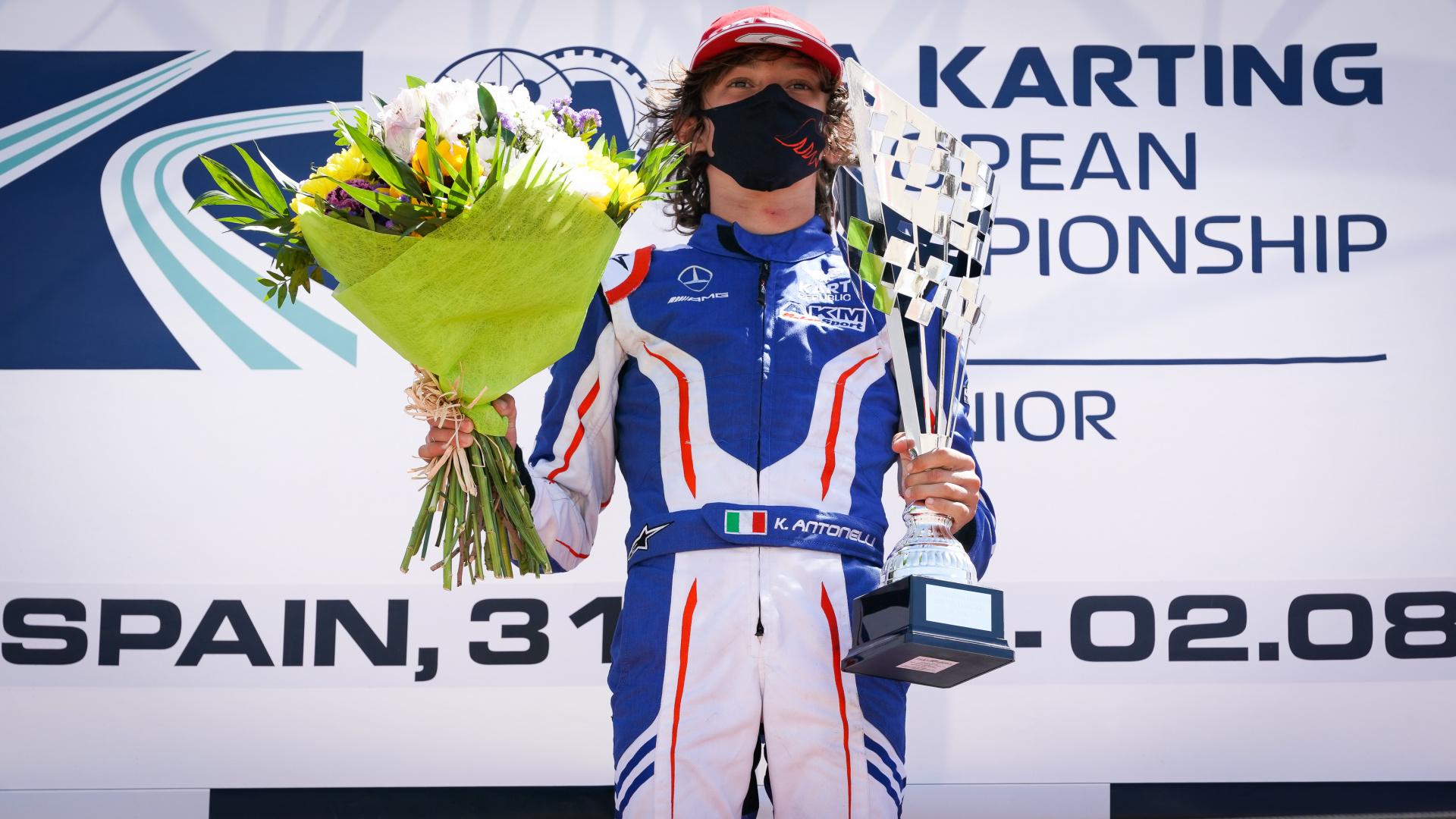 Andrea Kimi Antonelli: «Sto meglio e spero di tornare al più presto!»