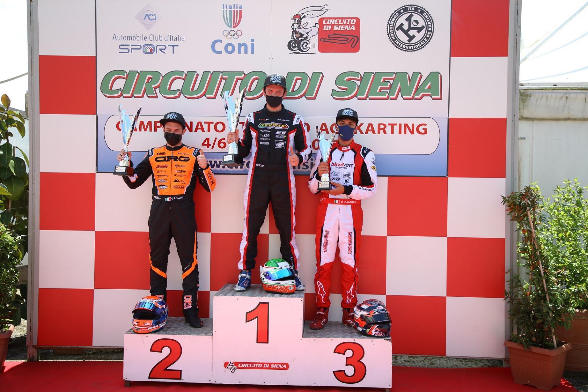 Campionato Italiano ACI Karting, Siena accende la sfida in KZ2