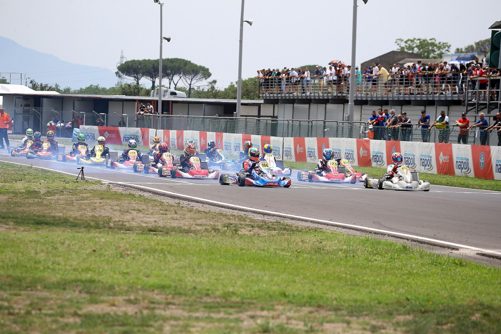 A La Conca il 4 luglio la sesta prova del Campionato Italiano ACI Karting.
