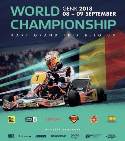 Il Mondiale KZ di Genk con Vroom Kart!