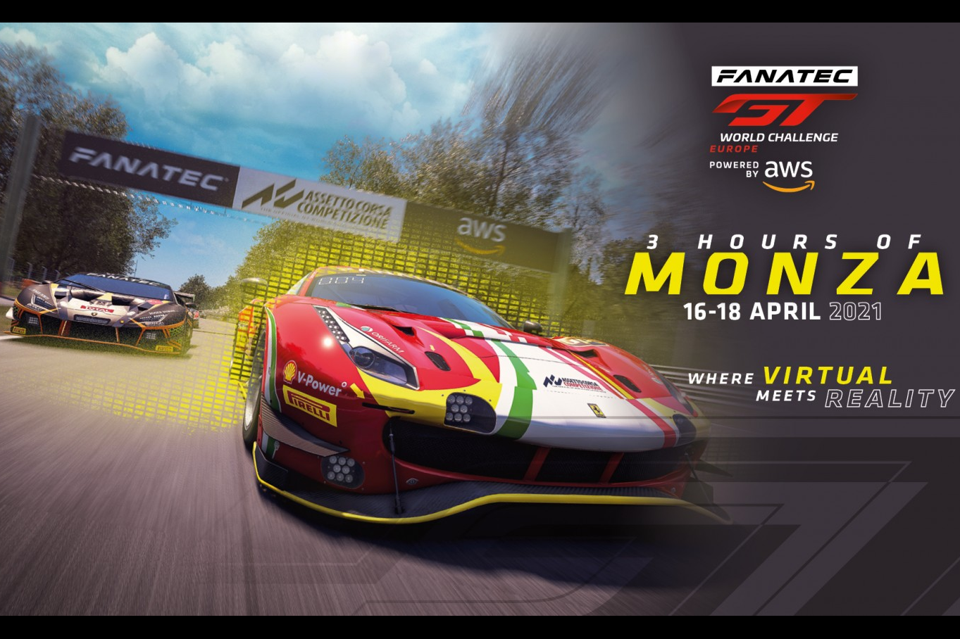 REAL + SIM Parte a Monza il GT World Challenge Europe
