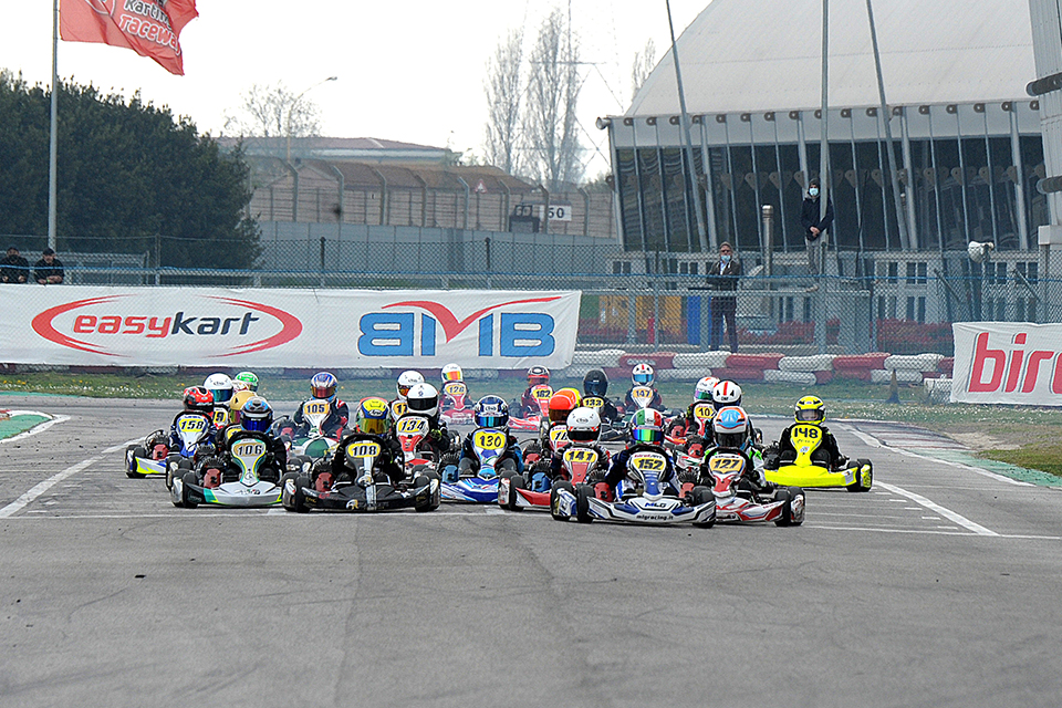 Trofeo Easykart ad Adria, esordio promettente
