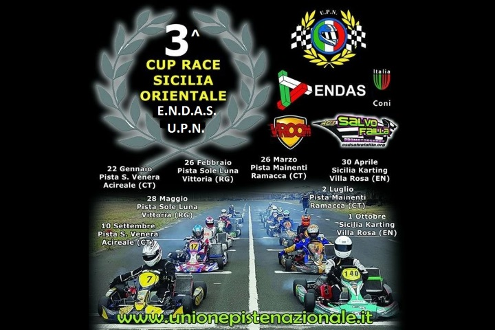 3° Cup Race Sicilia Orientale Circuito E. Mainenti, Ramacca