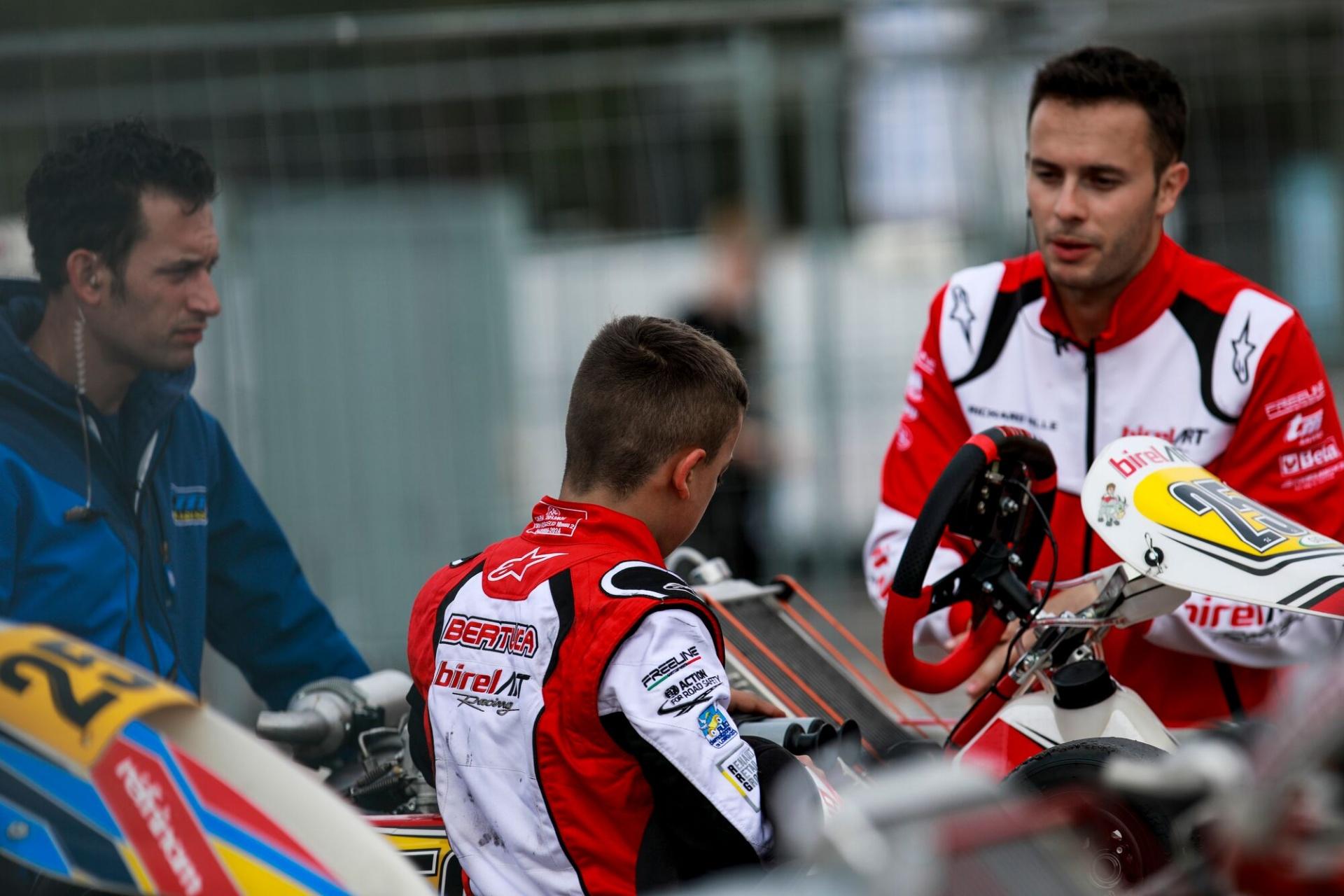 Cristian Bertuca a Le Mans per chiudere la prima stagione europea