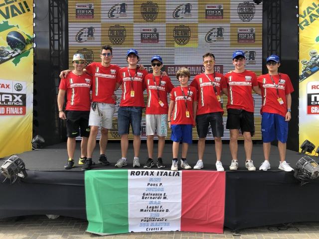 Il calendario della Rotax MAX Challenge Italia 2019