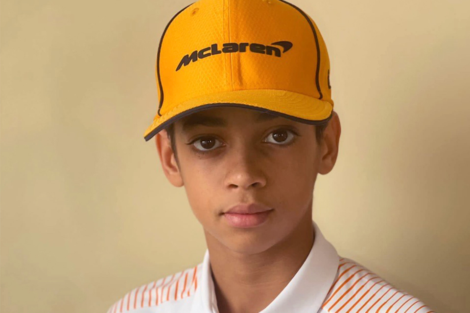 Ugo Ugochukwu in McLaren