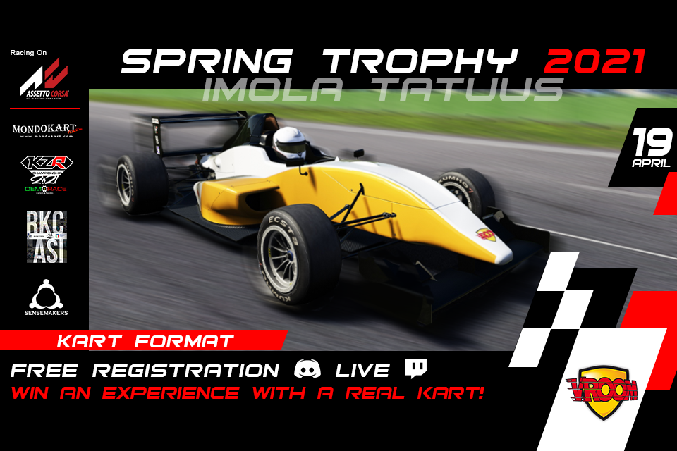 SIM Spring Trophy (19 aprile) già iniziate le qualifiche