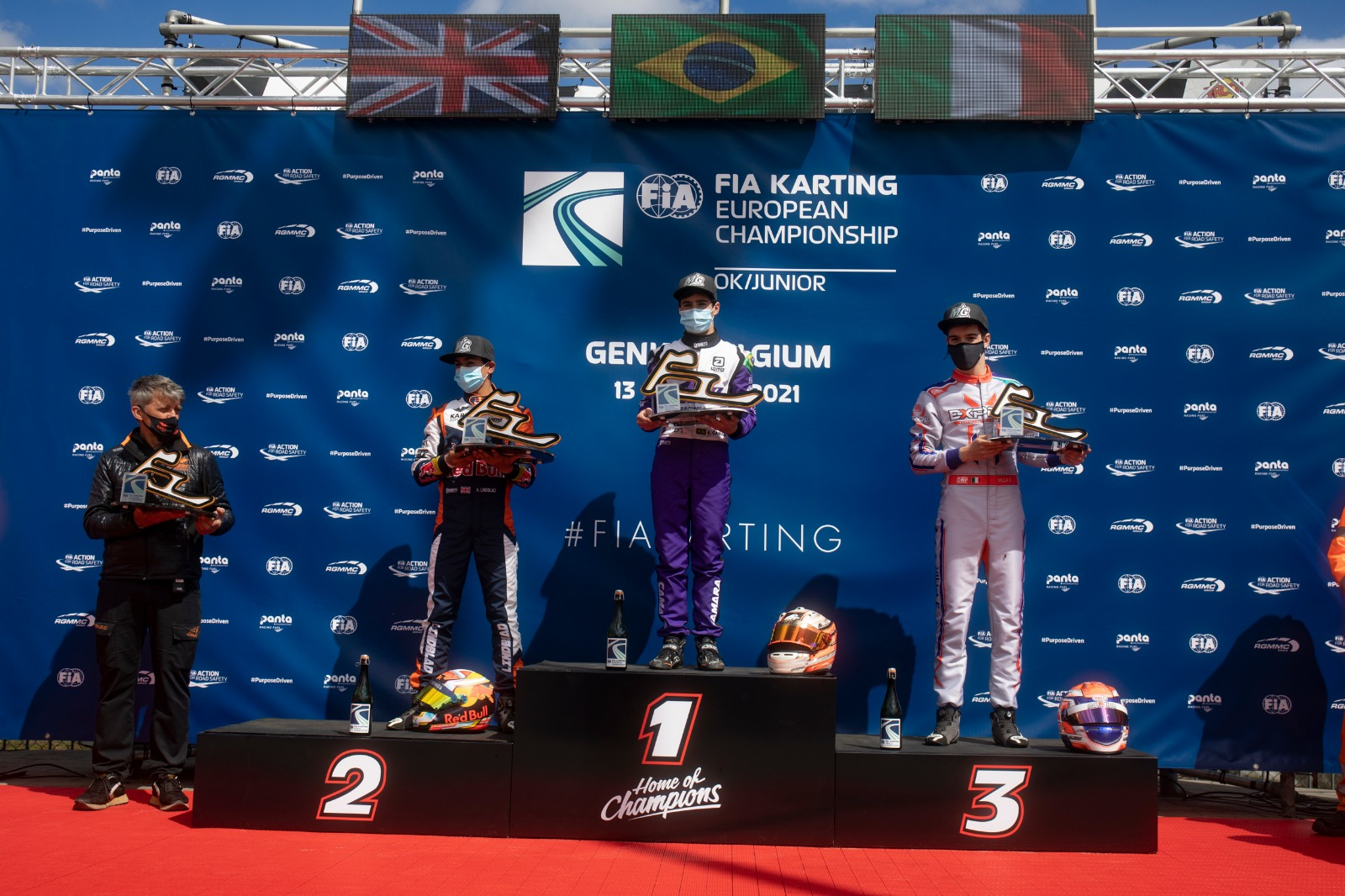 FIA Karting European Championship, Genk – Camara e Slater davanti a tutti
