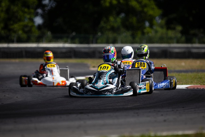 FIA Karting Euro, Sarno – Antonelli ed Egozi dominano le qualifiche