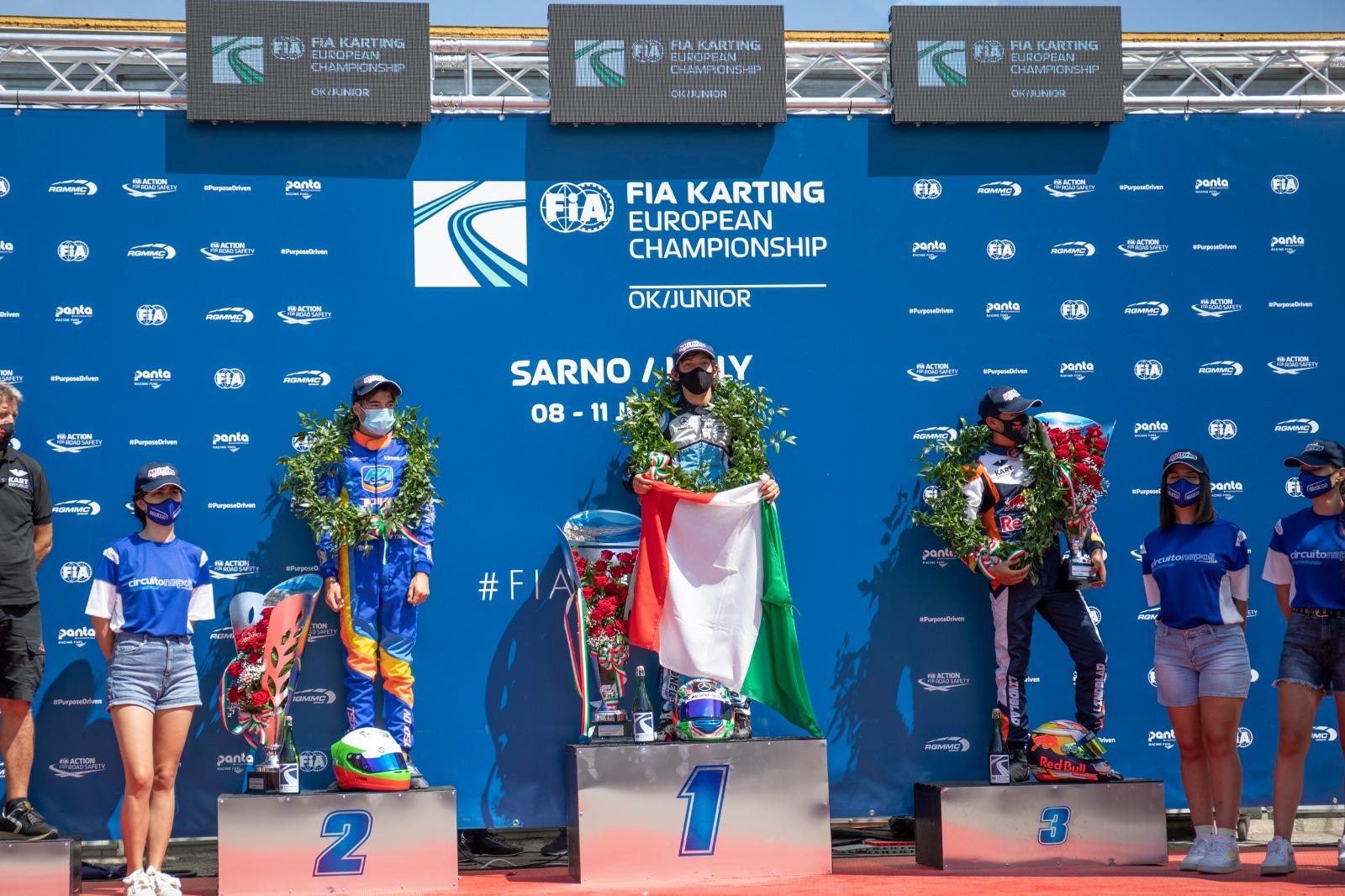 FIA Euro Sarno, Finale – Keeble vince al photofinish, Antonelli leader