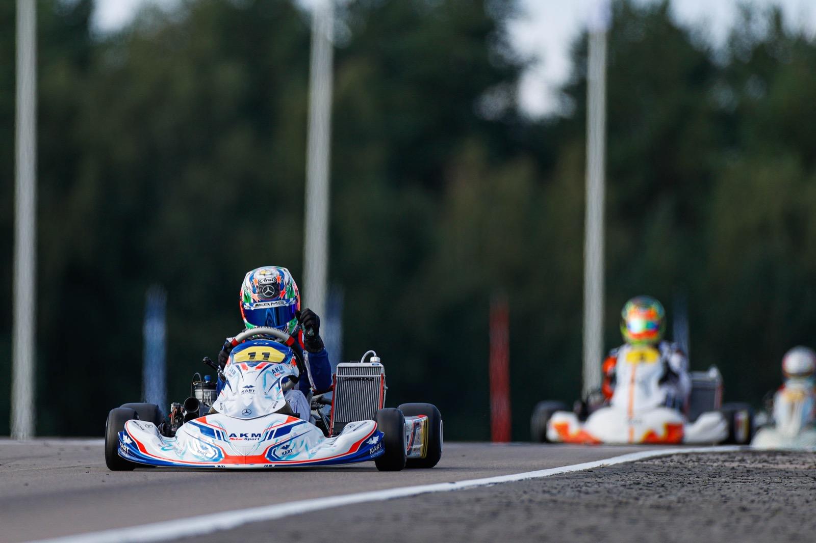 FIA World Championship KZ/KZ2 – Antonelli e Van Walstijn i più veloci