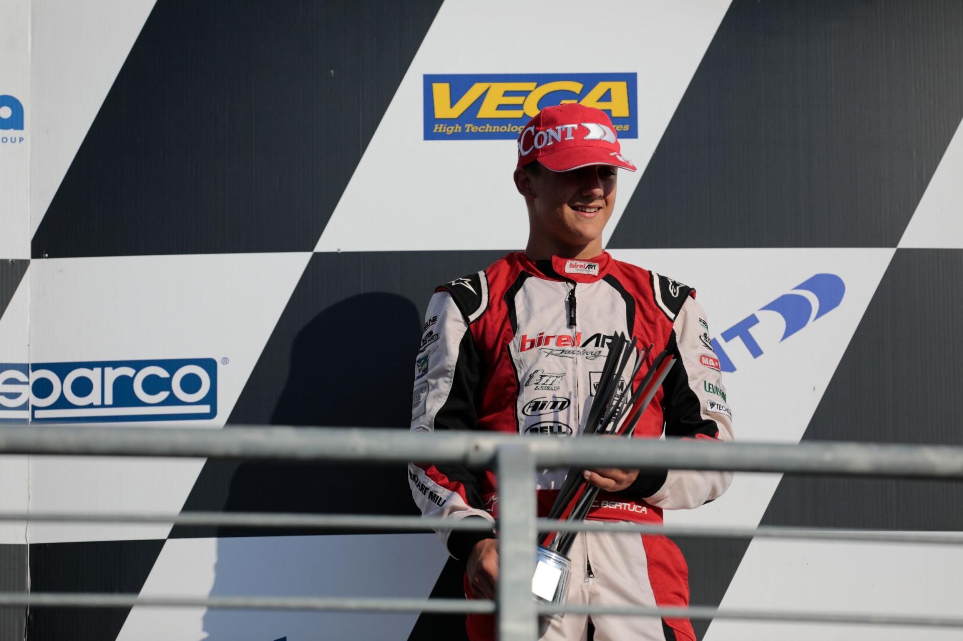 Cristian Bertuca chiude la Open Cup WSK sul podio di Adria
